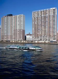 隅田川の水上バス・ヒミコの写真素材 [FYI04030284]