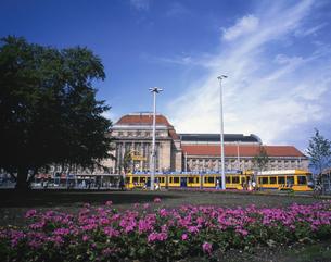 ライプツイヒ中央駅 ドイツの写真素材 [FYI04030371]