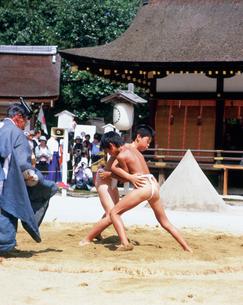 上賀茂神社 烏相撲の写真素材 [FYI04032244]