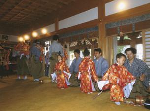 宮渡神事の写真素材 [FYI04032405]