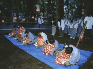 宮渡神事の写真素材 [FYI04032415]