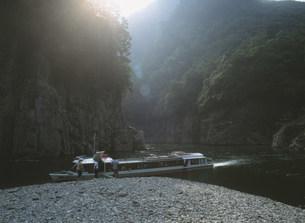 瀞峡ジェット船の写真素材 [FYI04032658]