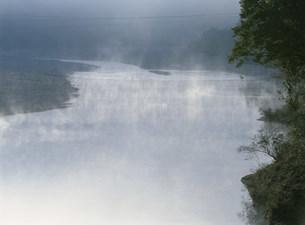 熊野地方の鮎漁ワナの写真素材 [FYI04032662]