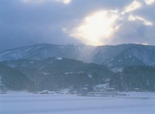 谷内地区の農村風景の写真素材 [FYI04032774]