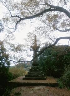 文殊仙寺宝篋印塔の写真素材 [FYI04032852]