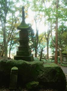 岩戸寺の国東塔の写真素材 [FYI04032859]