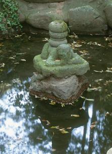 高田若宮八幡の邪鬼像の写真素材 [FYI04032868]