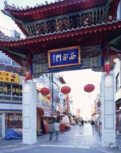 南京町 西安門の写真素材 [FYI04033002]