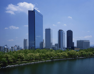 大阪府ビジネスパークの写真素材 [FYI04033110]