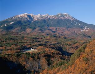 開田高原からの御嶽山の写真素材 [FYI04033844]