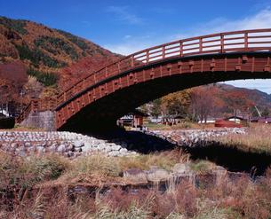 奈良井木曽の大橋の写真素材 [FYI04033858]
