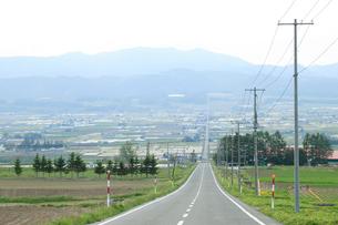 中富良野の街並みの写真素材 [FYI04033936]