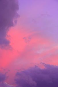 夕焼けの写真素材 [FYI04033943]