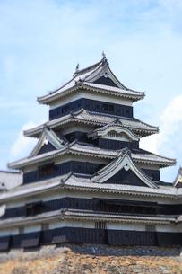 松本城の写真素材 [FYI04034098]