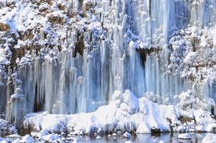 白川氷柱群の写真素材 [FYI04034138]