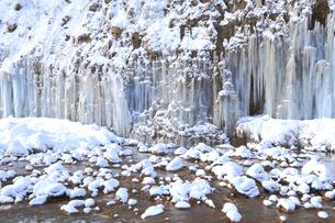 白川氷柱群の写真素材 [FYI04034172]