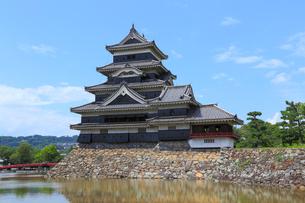 松本城の写真素材 [FYI04034174]