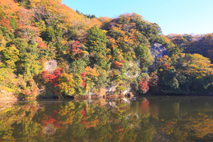 三島湖の写真素材 [FYI04034279]