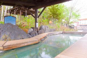 川湯温泉のあし湯の写真素材 [FYI04034494]