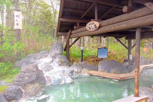 川湯温泉のあし湯の写真素材 [FYI04034499]
