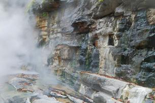 小安峡大噴湯の写真素材 [FYI04034654]