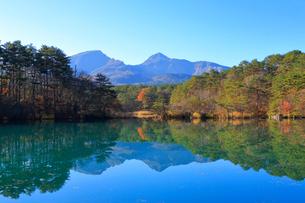 五色沼湖沼群の写真素材 [FYI04034710]