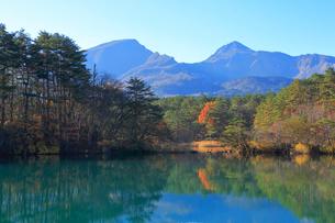 五色沼湖沼群の写真素材 [FYI04034711]