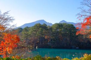 五色沼湖沼群の写真素材 [FYI04034712]
