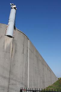 新潟刑務所の塀の写真素材 [FYI04035350]