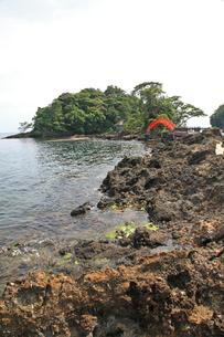 矢島・経島の写真素材 [FYI04036122]