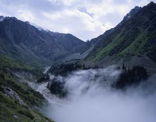 キルギス山脈内景勝地のアラ・アルチャ自然公園の写真素材 [FYI04036405]