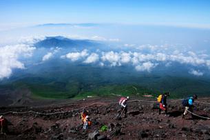 富士登山の写真素材 [FYI04036551]