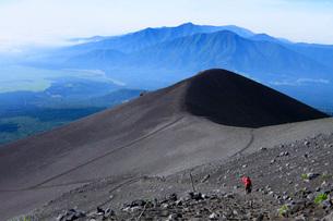 富士登山の写真素材 [FYI04036552]