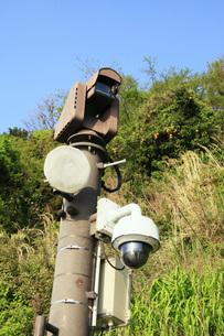 薩た峠 監視カメラの写真素材 [FYI04036599]