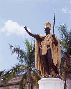 カメハメハ大王像の写真素材 [FYI04036628]
