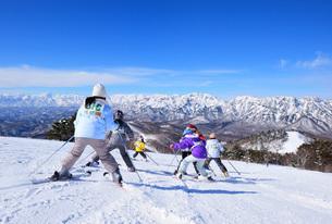 戸隠スキー場の写真素材 [FYI04037045]