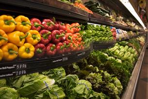 スーパーマーケットイメージの写真素材 [FYI04037116]