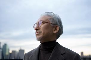 日本人のシニア男性の写真素材 [FYI04037546]