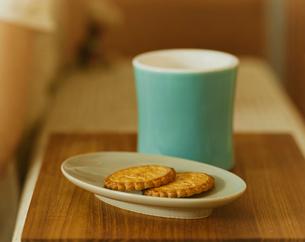コーヒーとお菓子の写真素材 [FYI04038019]