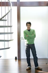 日本人男性のポートレートの写真素材 [FYI04038638]