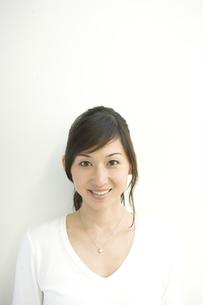 日本人女性のポートレートの写真素材 [FYI04038643]