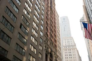 ニューヨークのビジネス街の写真素材 [FYI04039153]