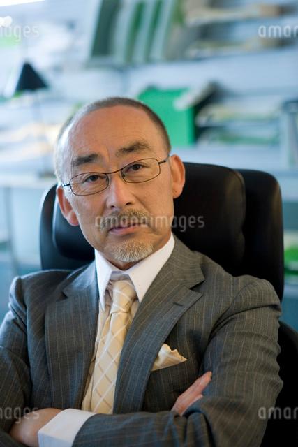 日本人ビジネスマンのポートレートの写真素材 [FYI04039175]