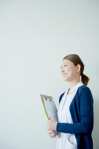 看護師のポートレイトの写真素材 [FYI04039459]