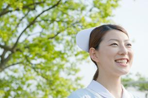 看護師のポートレイトの写真素材 [FYI04039497]