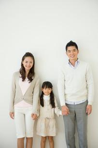 家族のポートレイトの写真素材 [FYI04039717]