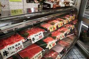 肉屋イメージの写真素材 [FYI04040010]