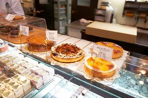 洋菓子屋イメージの写真素材 [FYI04040024]