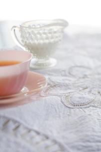 紅茶とミルクの写真素材 [FYI04040450]