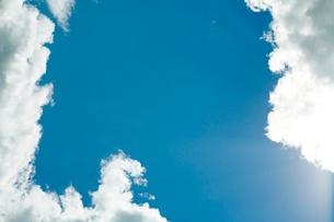 空と雲の写真素材 [FYI04041164]